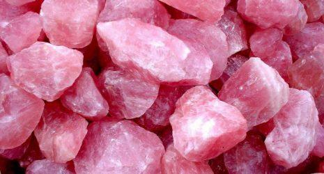 cristal cuarzo rosa