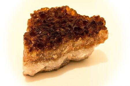 cuarzo citrino también llamado sitrino o citrinio