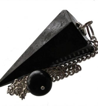 pendulo conico turmalina negra