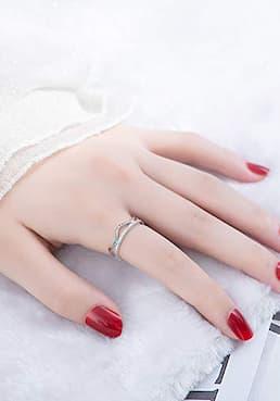 anillos bisutería online plata